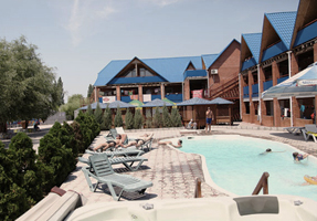 Resort Center Victoria on the Azov sea